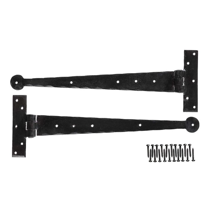 Hand Forged 15 inch T-Hinges (pair) (VDK-55)